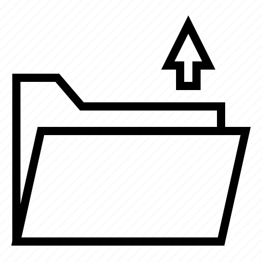 document, file, folder, load, upload icon