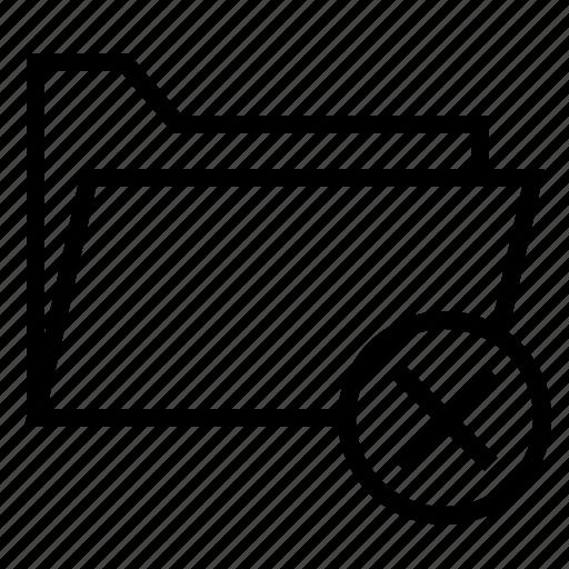 Close, document, file, folder, remove, ui icon - Download on Iconfinder