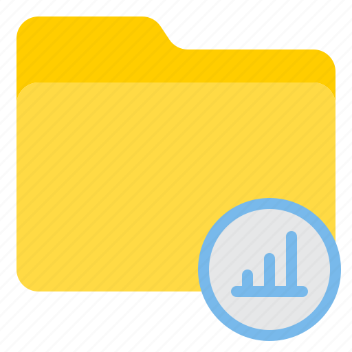 doc, document, file, folder, graph icon