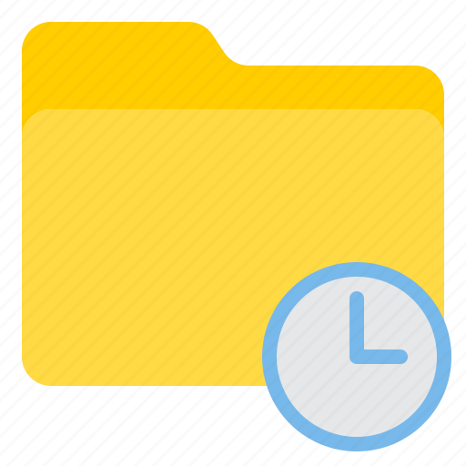 doc, document, file, folder, time icon