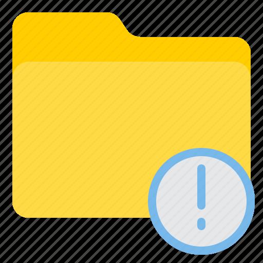 doc, document, file, folder, warning icon
