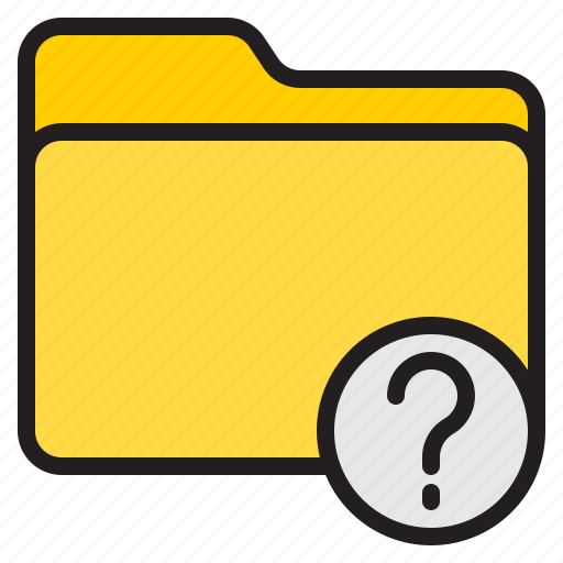 doc, document, file, folder, question icon