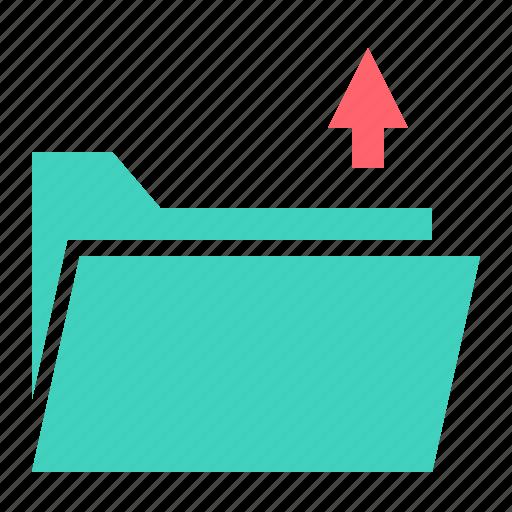 document, file, folder, send, upload icon