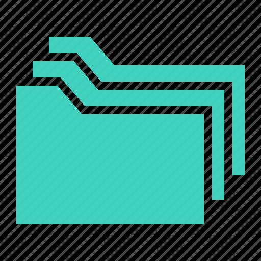 document, file, folder, group icon