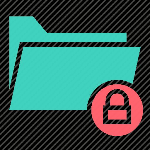 document, file, folder, lock, safe, ui icon
