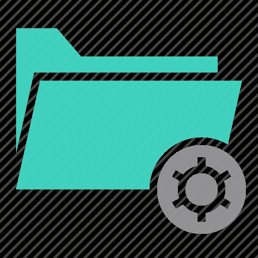 document, file, folder, option, setting icon