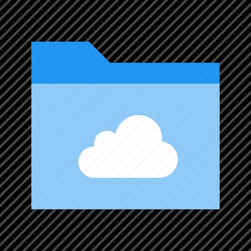 cloud, data, folder, remote, storage icon