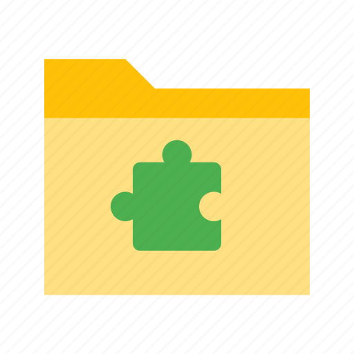 extension, file, folder, format icon