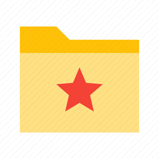 bookmark, document, favorite, file, folder, star icon