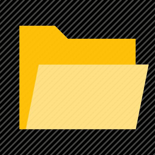 documents, files, folder, opened icon