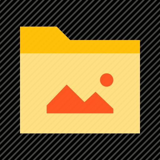 folder, image, images, media, photo, photos, picture icon