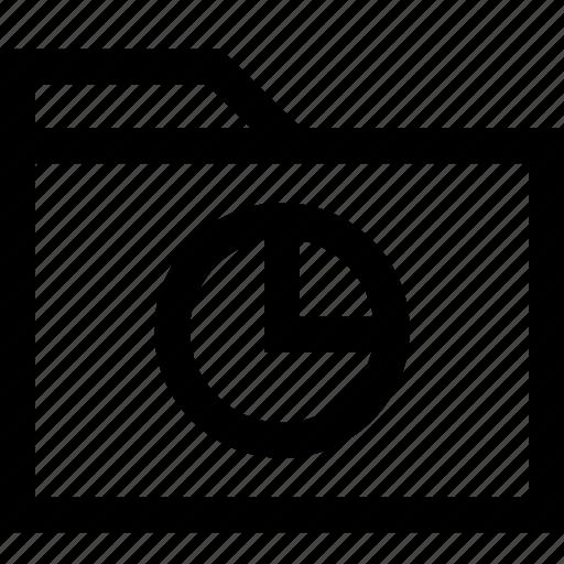 data, file, folder, graph icon