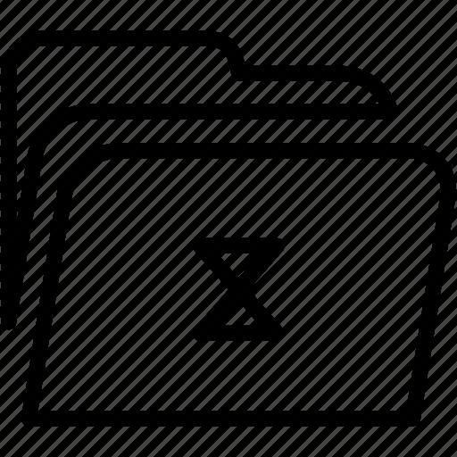 data, disk, explorer, file, folder, loading, storage icon