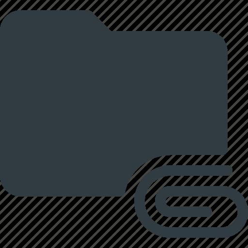 Attache, directory, folder icon - Download on Iconfinder