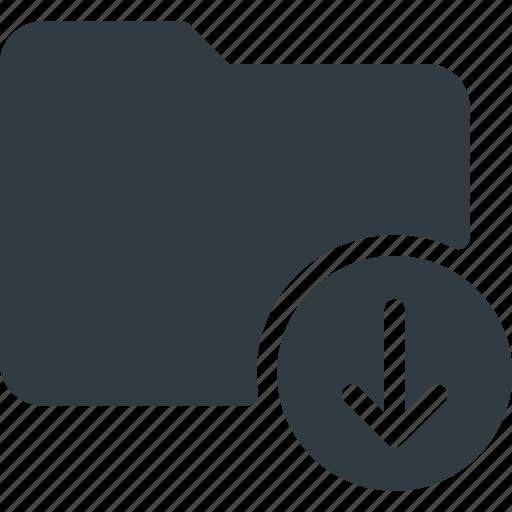 Directory, download, folder icon - Download on Iconfinder