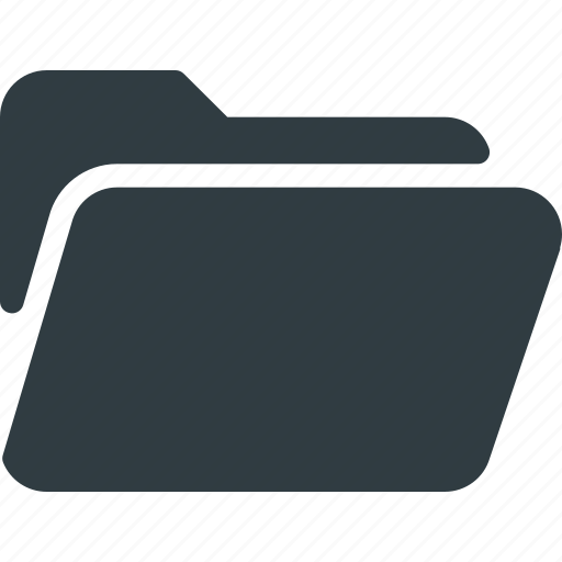 directory, folder, open icon