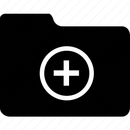 add, create, data, document, file, folder, new icon