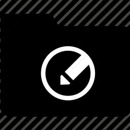 add, create, document, edit, file, folder, new icon