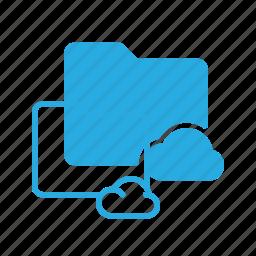cloud, directory, folder icon