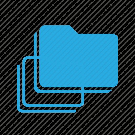 directory, folder, folders, stack icon