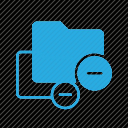 directory, folder, remove icon