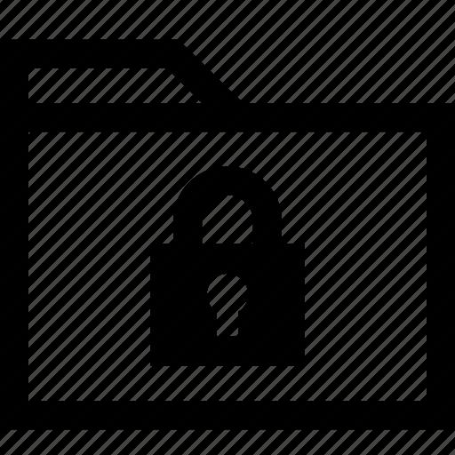 folder, safe, secured icon