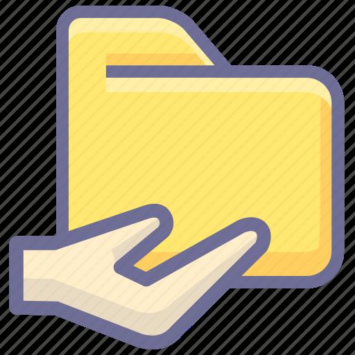 archive, folder, share folder icon
