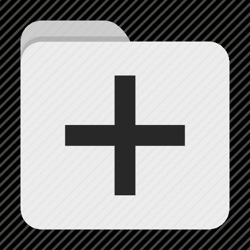 add, folder, ui icon