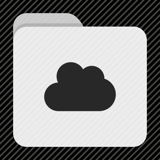 Cloud, folder, ui icon - Download on Iconfinder