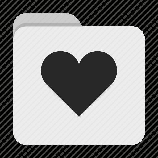 Folder, heart, ui icon - Download on Iconfinder