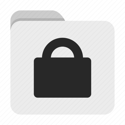 folder, lock, ui icon
