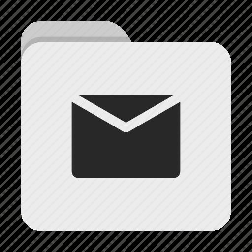 folder, mail, ui icon