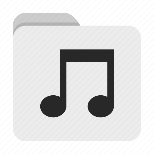 Folder, music, ui icon - Download on Iconfinder