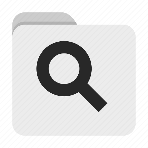 Folder, search, ui icon - Download on Iconfinder