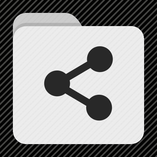 folder, share, ui icon