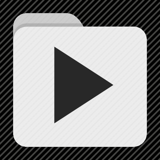 Folder, ui, video icon - Download on Iconfinder
