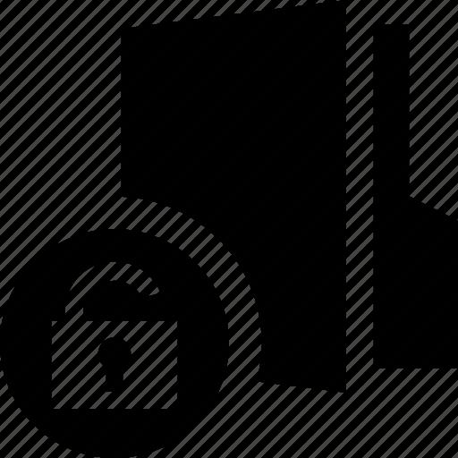 folder, free, open, public, unlock, unlocked icon