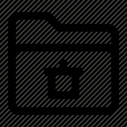 delete, document, file, folder icon