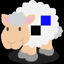 sheep, social network, delicious icon