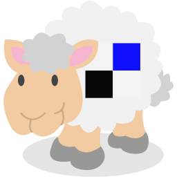 delicious, sheep, social network icon