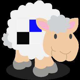 delicious, sheep, social network icon