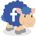 sheep, facebook, social network