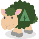 sheep, social network, forrst icon