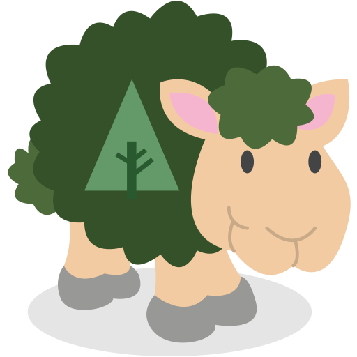 forrst, sheep, social network icon