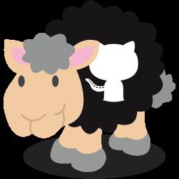 github, sheep, social network icon