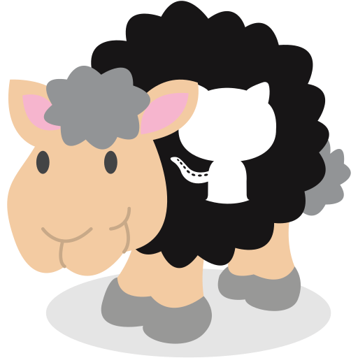Sheep, github, social network icon - Free download