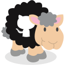 github, sheep, social network icon