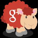 sheep, gplus, google plus, social network icon