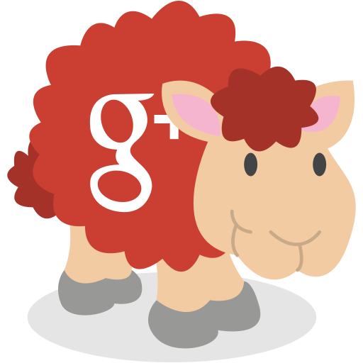 google plus, gplus, sheep, social network icon