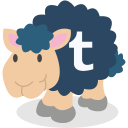 sheep, social network, tumblr icon